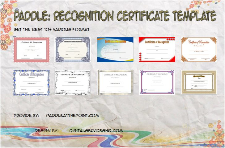 Permalink to Recognition Certificate Editable FREE – 10+ Best Ideas