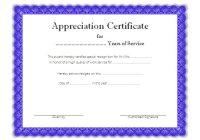 Certificate of Retirement 1