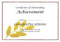 Certificate of Retirement 4