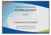 Certificate of Retirement 5