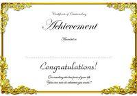 Certificate of Retirement 6