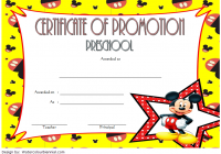 Certificate of School Promotion Template 9 FREE