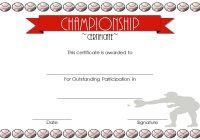 Championship Certificate 1