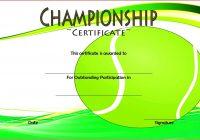 Championship Certificate 2