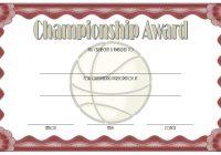 Championship Certificate 5
