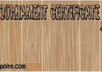 Chess Tournament Certificate Template Ideas FREE by Paddle