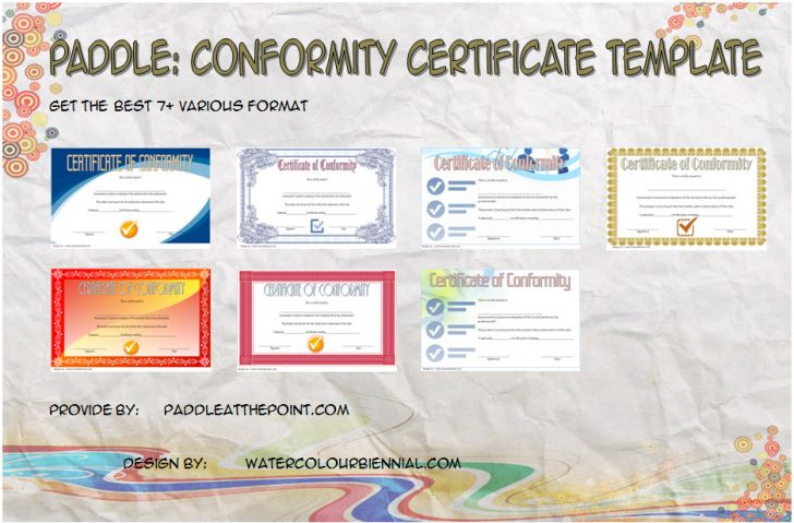 Permalink to Conformity Certificate Template: 7+ Official Documents Free