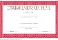 Congratulation Winner Certificate Template 1