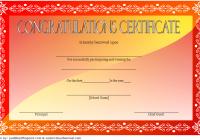 Congratulation Winner Certificate Template 2