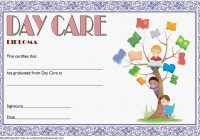 Daycare Diploma Certificate Template 2