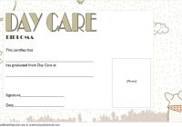 Daycare Diploma Certificate Template 4