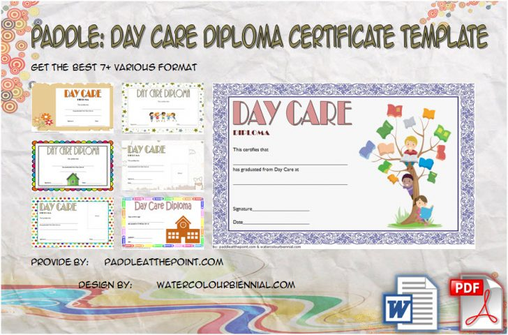 Permalink to Daycare Diploma Template Free