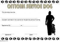 Dog Training Certificate Template 5