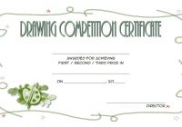 Drawing Competition Certificate Template 4