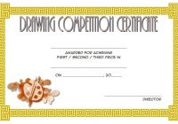 Drawing Competition Certificate Template 5