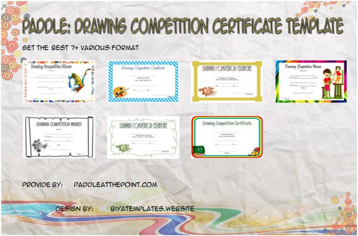 Permalink to FREE Drawing Competition Certificate Templates: 7 Best Ideas