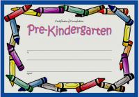 Editable Pre-K Graduation Certificate Template 3