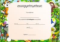 Editable Pre-K Graduation Certificate Template
