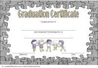 Editable Pre-K Graduation Certificate Template 5