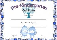 Editable Pre-K Graduation Certificate Template 6