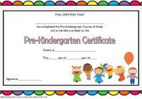 Editable Pre-K Graduation Certificate Template 7
