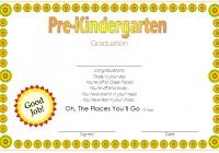 Editable Pre-K Graduation Certificate Template 9