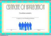 Employee Appreciation Certificate Template 4