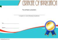 Employee Appreciation Certificate Template 5