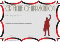 Employee Appreciation Certificate Template 6