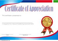 Employee Appreciation Certificate Template 7