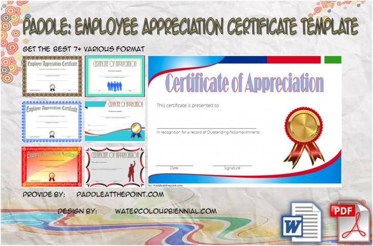 Permalink to Employee Appreciation Certificate Template: 7+ Best Designs