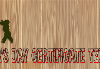 Fathers Day Certificate Template Ideas by Paddle