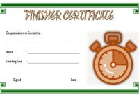 Finisher Certificate 1