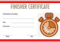 Finisher Certificate 2