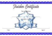 Finisher Certificate 4