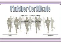 Finisher Certificate 5