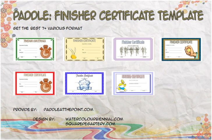 Permalink to Finisher Certificate Template – 7+ Best Ideas