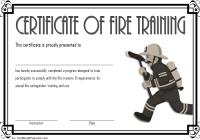 Fire Extinguisher Certificate Template 7