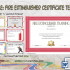 Fire Extinguisher Training Certificate – 7+ Latest Designs