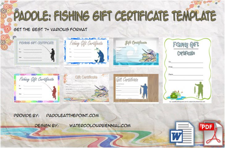 Permalink to Fishing Gift Certificate Template – 7+ Inspirational Designs
