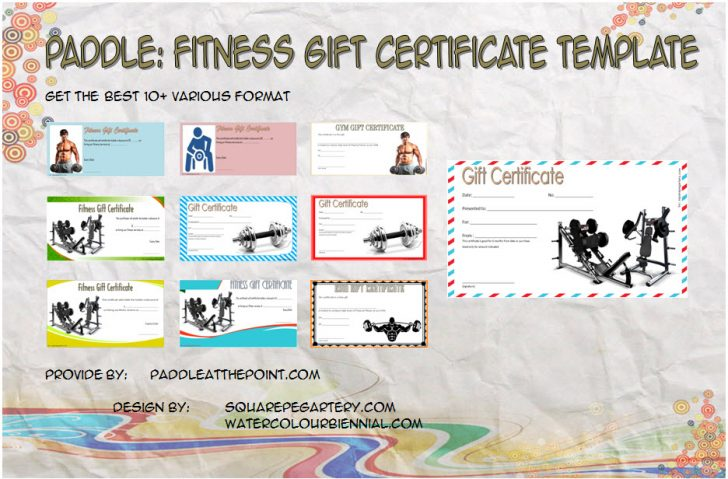 Permalink to Fitness Gift Certificate Template – FREE 10+ Best Ideas