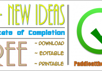 Free Certificate of Completion Template for Word (2020 Design) by Paddle