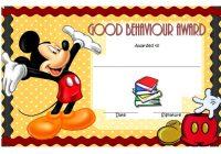 Good Behaviour Award Certificate 4
