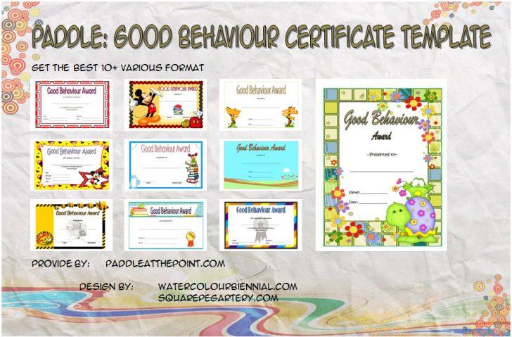 Permalink to Good Behaviour Certificate – 10+ Best Template Ideas FREE