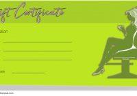 Hair Salon Gift Certificate Template 5