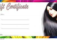 Hair Salon Gift Certificate Template 7