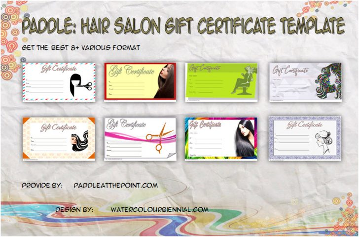 Permalink to Hair Salon Gift Certificate Templates Free (8+ Great Ideas)