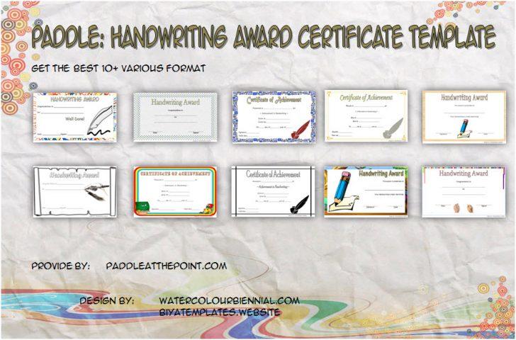 Permalink to Handwriting Award Certificate Printable (10+ Template Ideas)