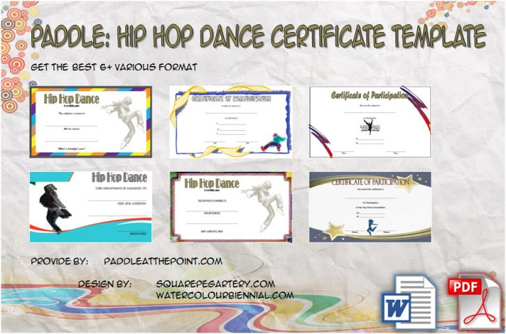 Permalink to Hip Hop Certificate Templates FREE Download: 6+ Best Ideas