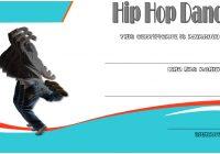 Hip hop Certificate Template 2
